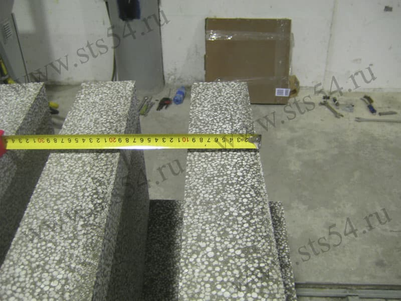 Automated lines polystyrene concrete blocks from siberian for Styrofoam concrete blocks