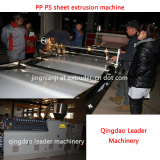 vacuum thermoforming PP PS sheet  making machine