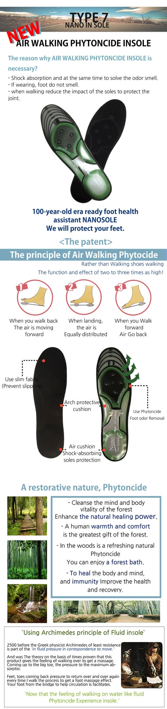 AIR WALIING PHYTONCID INSOLE _3