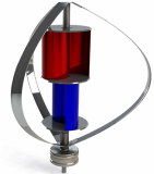 Wind Generator_ for hybrid streetlight_ solar wind hybrid