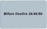 RFID MIFARE DESfire 8k White PVC Card