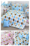 Bedding Set - Argyle Check