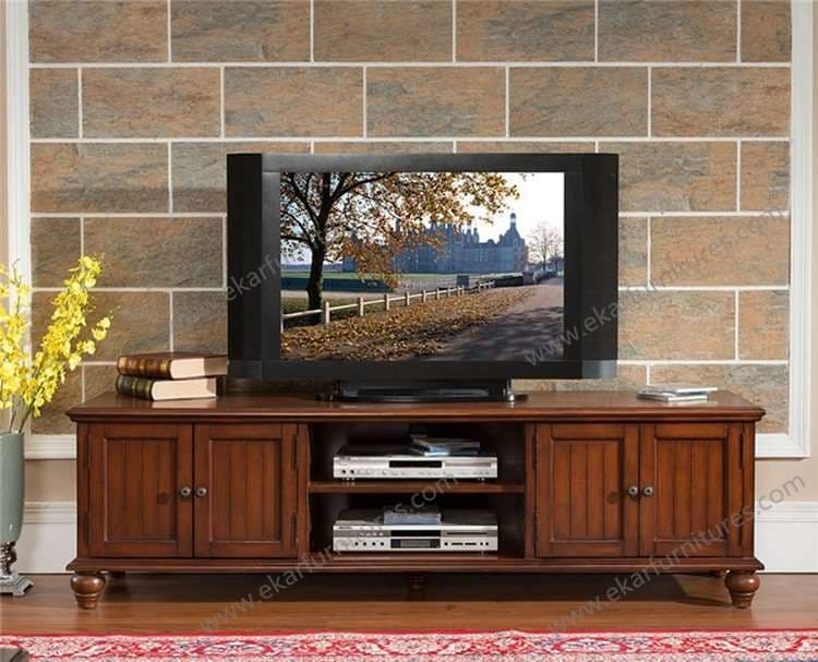 Led Tv Stand Designs Wooden : Led tv stand furniture wooden racks designs from
