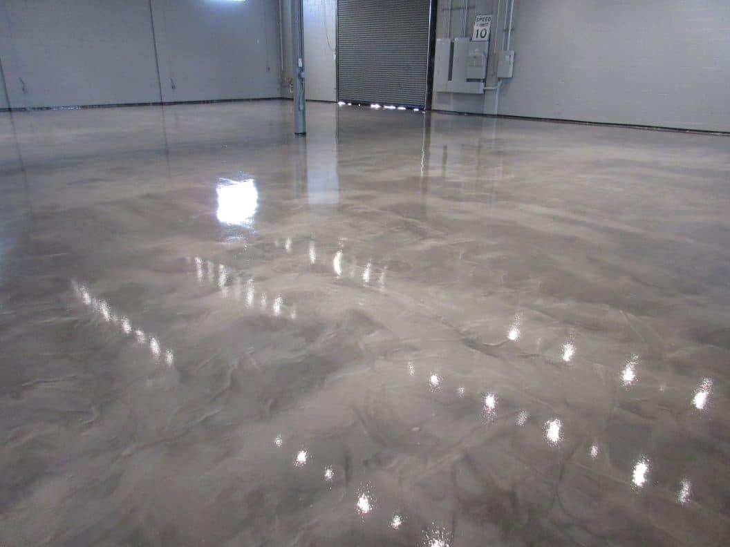 Hardener Epoxy Floor : Amine hardener with a liquid epoxy floor coating sec