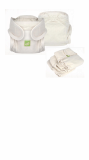 Organic cotton all in one diaper