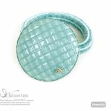 Cotton Circle ponytail holder