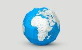 ZEMIRO Paper Globe _Plan Map_