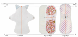 Gnaran Reusable Cotton Pantyliner