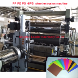PP  PE  HDPE PS HIPS sheet production line