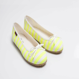 C304 Fluorescent Stripe Flat shoes_shoes