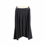 -MONICA-MOBLINE- Simple Elegance Flare Skirt