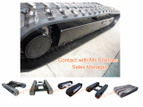 Rubber Track undercarriage with custom design