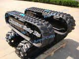custom built rubber track undercarriage