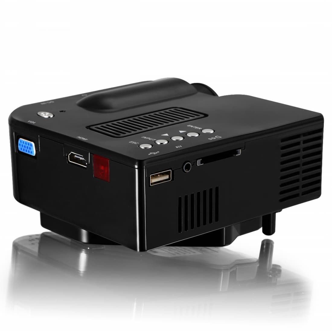 Vivibright gp5s mini led portable projector from for Micro mini projector
