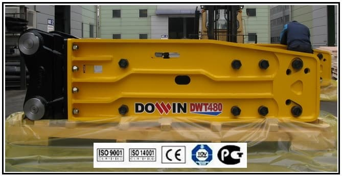 Hydraulic Breaker _ DWT480 _ OPEN TYPE