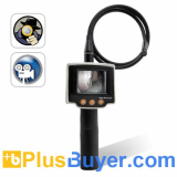 Video Borescope - Waterproof Inspection Camera with 2.4 Inch View Screen