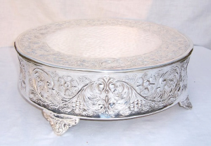 Antique Silver Wedding Cake Stand 5000 Simple Wedding Cakes