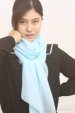 100_ polyester solid scarf