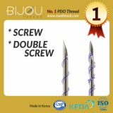PDO Thread BIJOU Screw_ Double Screw_ Hurricane_ Twist