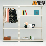steel_ MDF wood home _ multi use furniture_ display_ storage