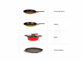 kitchen containers -Cookware-