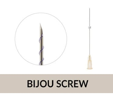 Face Lifting PDO Thread BIJOU Screw_ Double Screw