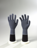 Grey Nylon Non Coated Gloves