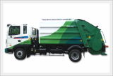 Garbage Truck-5Ton Roll Packer