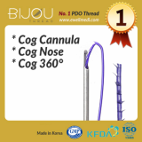 Face Lifting PDO Thread BIJOU Cog Cannula_ Cog Nose_ Cog 360