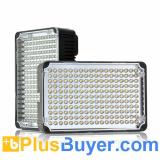 Aputure Amaran AL-198C - LED Camera Light (198 LEDs, 18W, 800 Lumens, Color Temperature Adjustment)