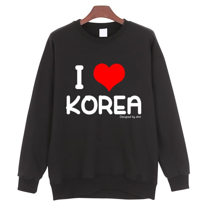 i love korea t shirt man to man from eve company b2b