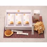Golden blossom mushroom fermentation