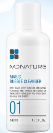 MDNATURE BUBBLE CLEANSING FOAM