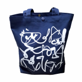 _DAYSYOUNG_ ECO BAG_BLUEDRAWING