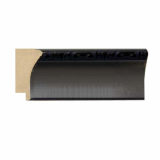polystyrene picture frame moulding - 710(S) Black