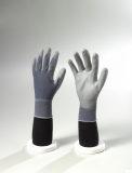 Grey Nylon / Grey PU Palm Coated Gloves