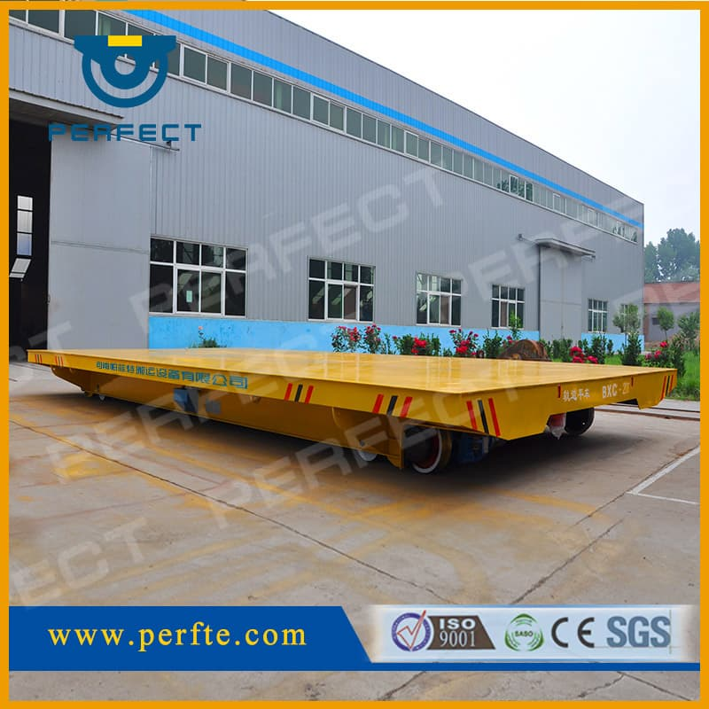 Platbed Transfer Cart_ Handling Equipment_ Cargo Transport