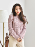 Top_ Knit Top_ Knitwear_  High_Quality_ Warm Clothing