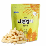 BEBECOOK WISE MOM RICE SNACK GRAINS FLAVOR