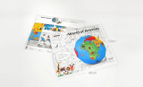 ZEMIRO Paper Globe _World of Animals_