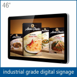 46 inch large apple shape digital monitor