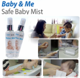 Safe- eco-friendly baby wipes-water mist