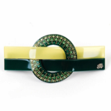 [Rena Chris]  Circle Twist barrette