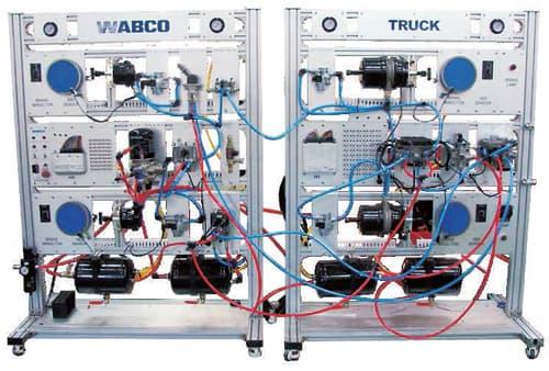 WABCO Trailer Type Truck Air Brake System Simulator | tradekorea