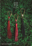 Geniune Leather Tassel Swarovski High_end