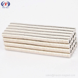 Neodymium disc magnets D10_2mm of N35 grade