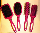 Hairbrush , plastic combs