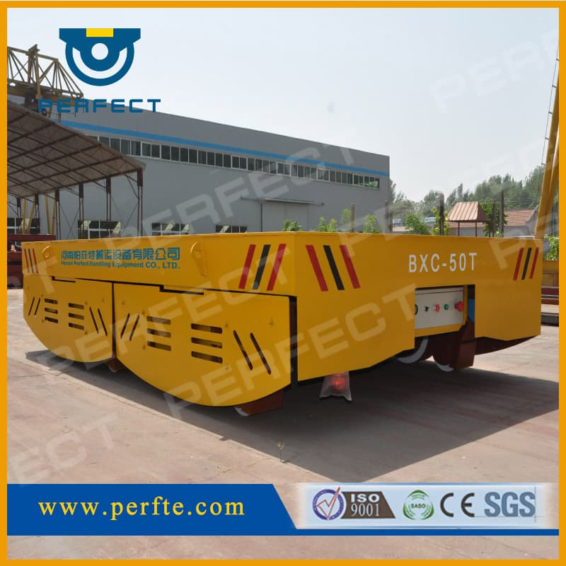 Material Handling Trolley, Electric Flat Cart, Rail Cart from Henan Perfect Handling Equipment ...