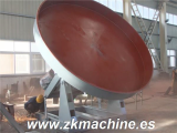 Disc Granulator for Organic Fertilizer Compound granulation