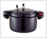 Hard Anodized Aluminum Pressure Cooker